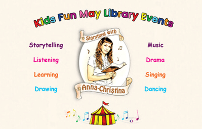 Kids Fun May Library Events 2019