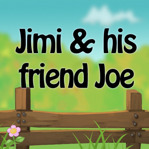 Jimi and his friend Joe Cover Image