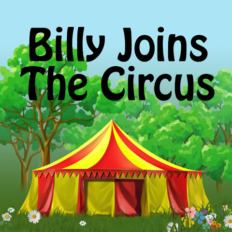 Billy Joins The Circus Cover Image