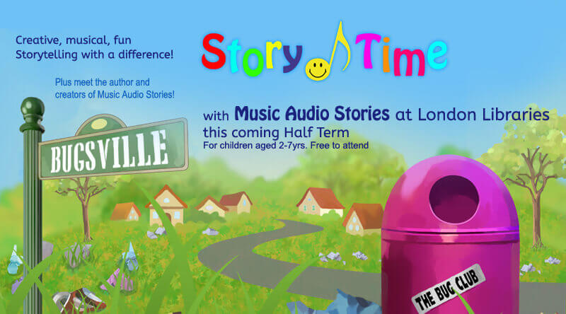 Story Time with Music Audio Stories at London Libraries image